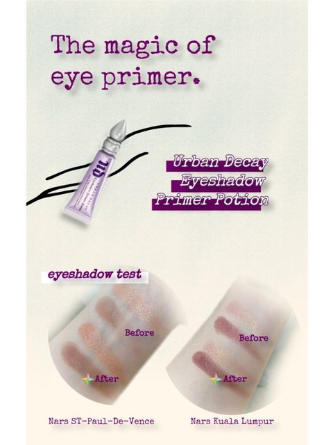 The magic of eye primer! Who hasn't owned it yet?