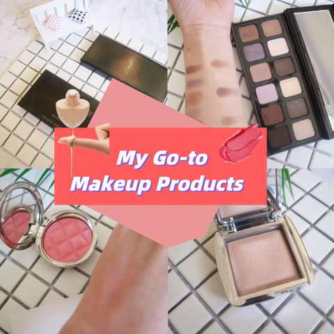 My Go-to Makeup Products!!!