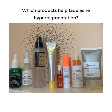 Favourite acne scarring fading products?