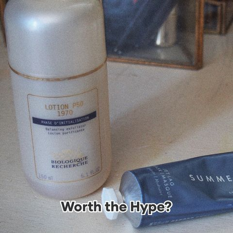Worth the Hype: Lotion P50 & Jet Lag Mask