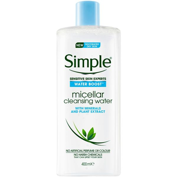 Water Boost Micellar Cleansing Water , Simple, cherie