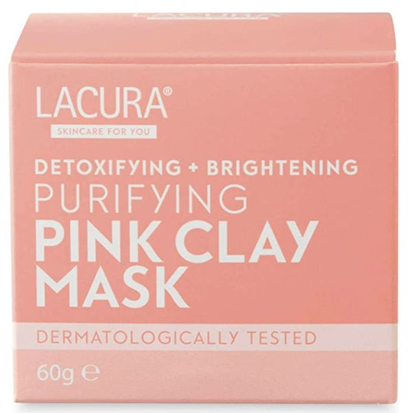 Pink Clay Mask, LACURA, cherie