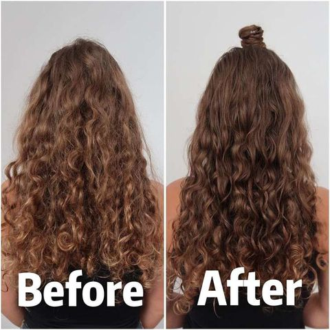 Refresh second-day curls: 4 steps⭐Without heat!