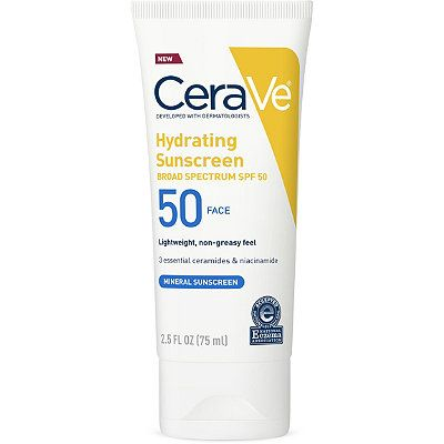 Hydrating Sunscreen Face Lotion SPF 50, CeraVe, cherie