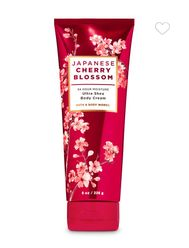 JAPANESE CHERRY BLOSSOM Ultra Shea Body Cream