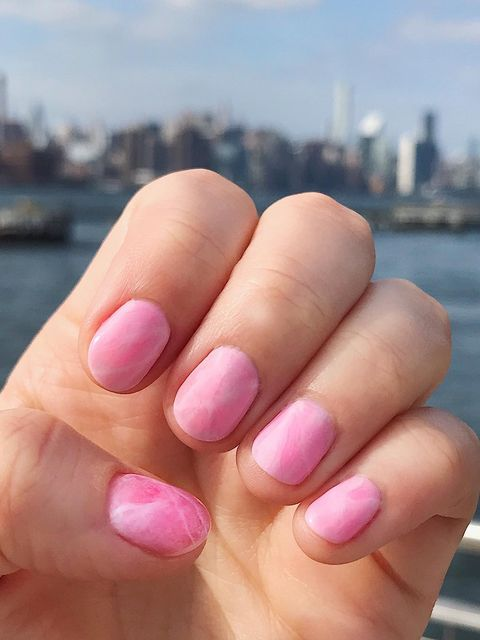 I went to NYC last weekend and these were my nails!!!!