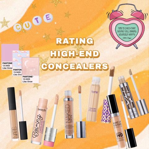 RATING: HIGH-END CONCEALERS! 🤩