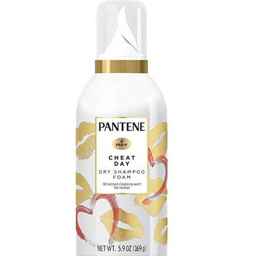 Cheat Day Dry Shampoo Foam, PANTENE, cherie