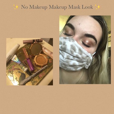 ✨ No Makeup Makeup Mask Look ✨