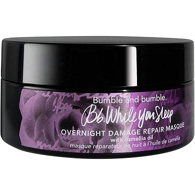 While You Sleep Damage Repair Masque, Bumble and bumble., cherie