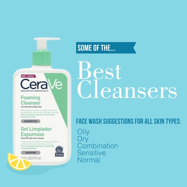 Best Facial Cleansers | Cherie