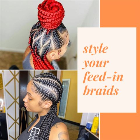 5 HEAD-TURNING Styles with Feed-In Braids