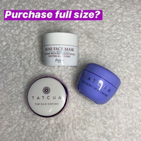 Minis: Would I purchase full size?