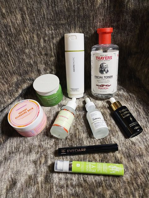 My PM skincare routine for oily skin