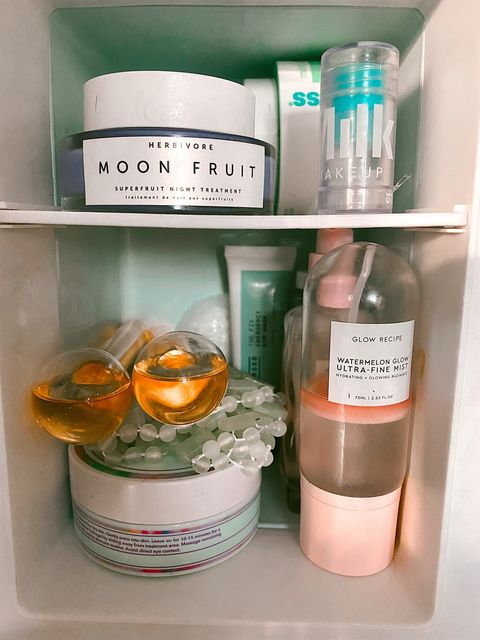 Fave items to store in my skincare fridge!💞