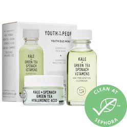 Cleanser + Cream Youth Duo Mini