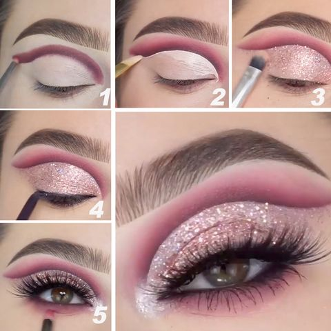 A Step-By-Step Tutorial To Achieve This Metallic Eyeshadow Look!
