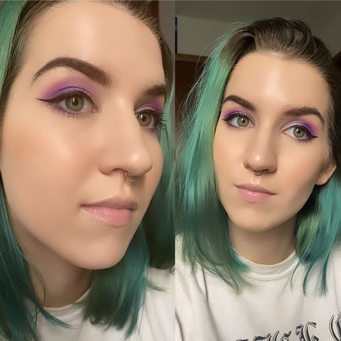 Purples/Mauves for Green Eyes 🖤