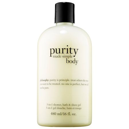 Purity Made Simple 3-in-1 Shower, Bath & Shave Gel