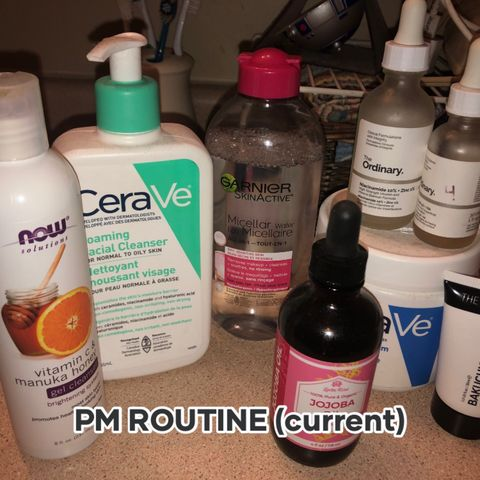 PM ROUTINE CURRENTLY