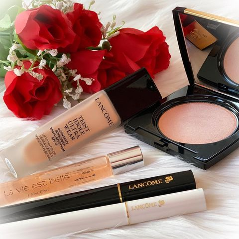 Lancome products review . • Te