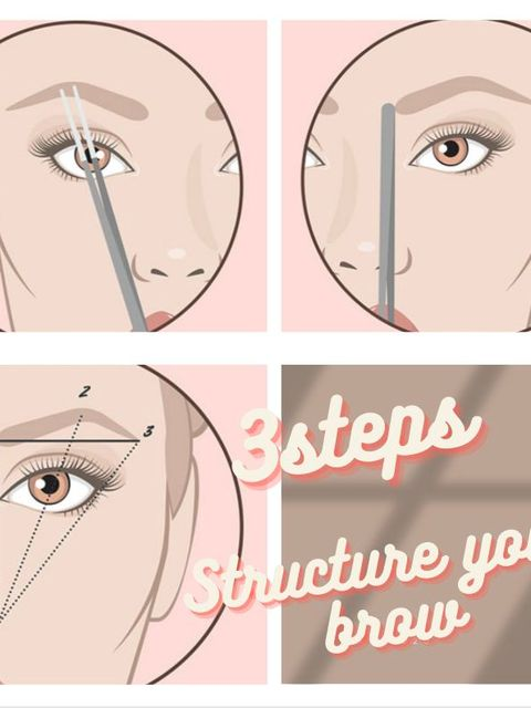 Tips for how to structure your eyebrows