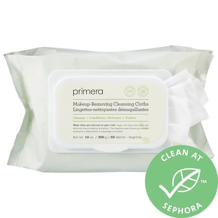 Makeup-Removing Cleansing Cloths, primera, cherie