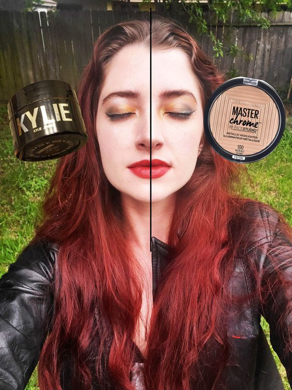 Which Highlighter is Best? Between Kylie Kylighter & Master Chrome | Cherie