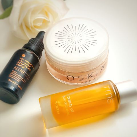 These products get the best glow on my face