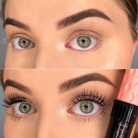 Benefit Mascara Before&After �