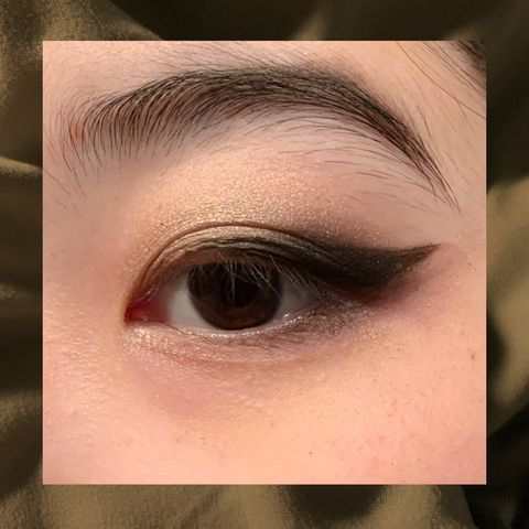 Cold Tone Golden Smoky Look