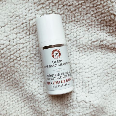 {Skincare} FAB Triple remedy AM eye gel