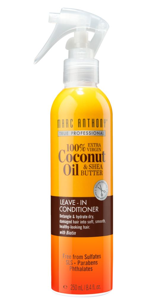 100% Extra Virgin Coconut Oil & Shea Butter Leave-in Conditioner