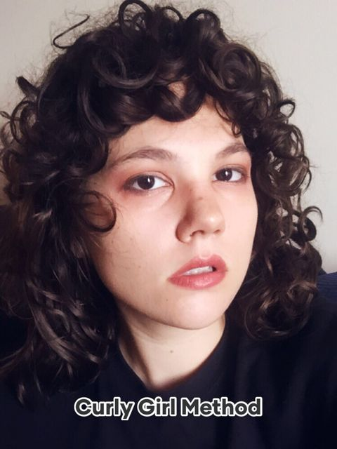 My Curly Girl Method Routine for healthy curls