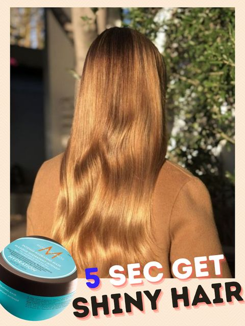 With this hair mask, you can easily get shiny hair...