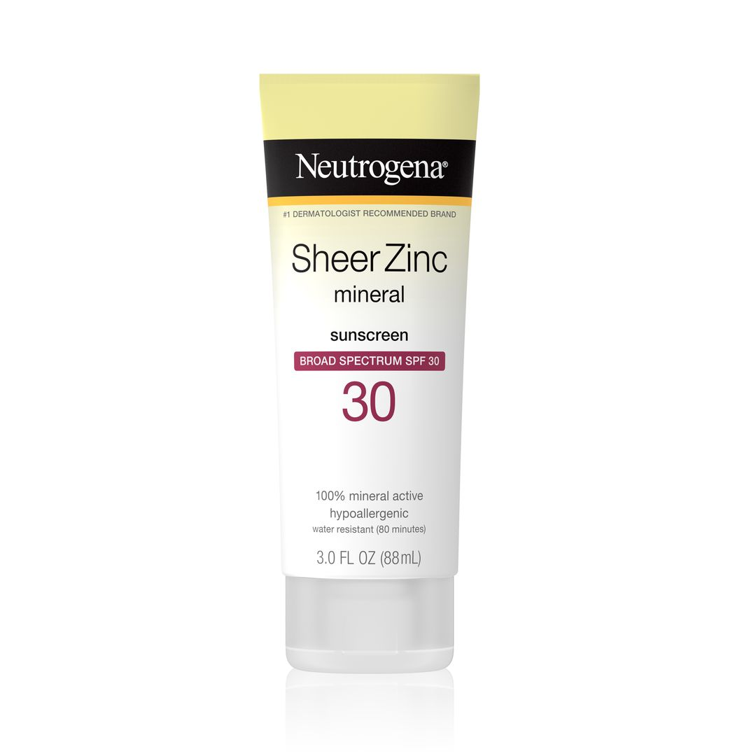 Sheer Zinc Dry-Touch Sunscreen Lotion with SPF 30