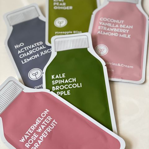 ESW Beauty - Raw Juice Cleanse Masks