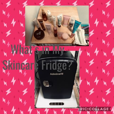 What's in My Skincare Fridge? Let's Look 👀!