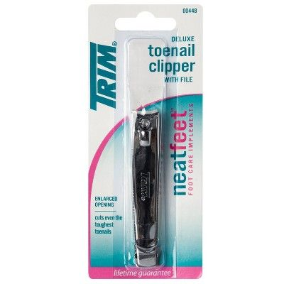 Neat Feet Deluxe Toenail Clipper With File