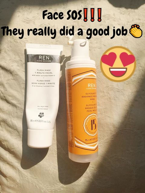 FACE SOS❗Can't believe that they saved my skin😭👍