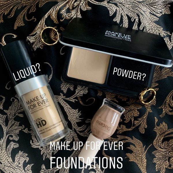 Foundations from Make up for ever—liquid or powder? | Cherie
