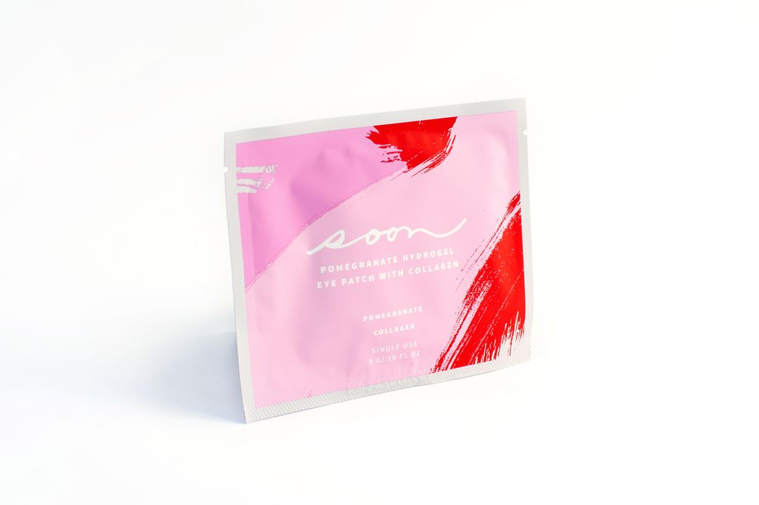 Pomegranate Hydrogel Eye Patch With Collagen