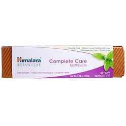 Botanique, Complete Care Toothpaste, Simply Spearmint