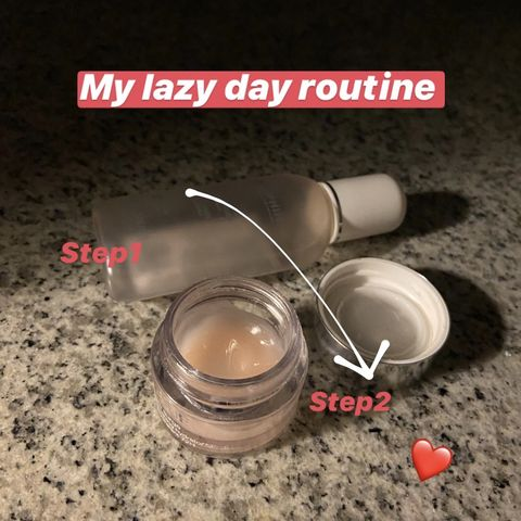My lazyyyyyyy day routine