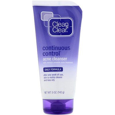 Continuous Control Acne Cleanser, Daily Formula