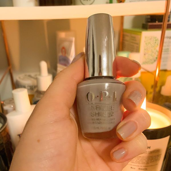 """My favorite at home """"gel"""" manicure!  