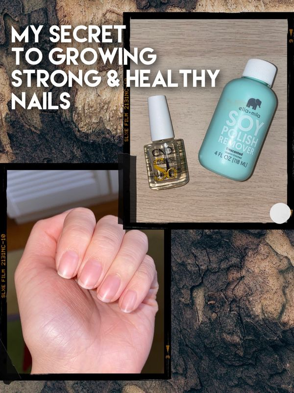 Grow Strong & Healthy Nails✨💅🏻 #CheriePartner | Cherie