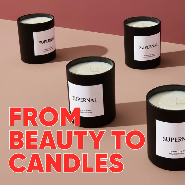 Why are skincare brands launching candles?