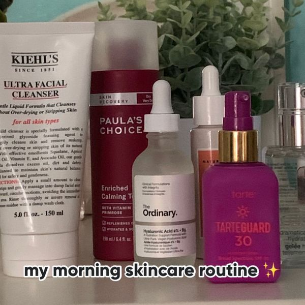 my morning skincare routine ✨ | Cherie