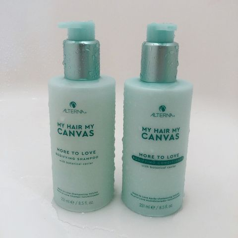 Love the smell of this shampoo and conditioner